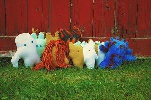 Handmade plush toys