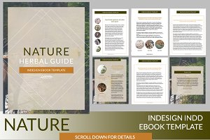 Nature InDesign Ebook Template
