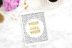 Inspirational Printable- Hustle Baby