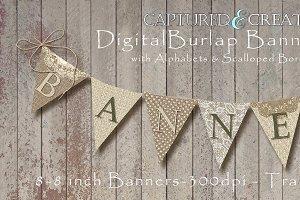 Burlap Banner/Pendants Pack