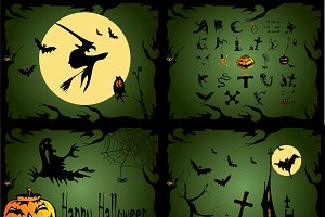 Happy Halloween 4 background