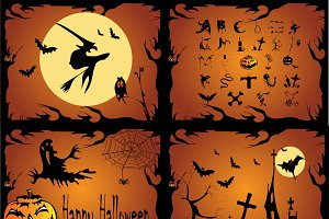 Happy Halloween 4  backgrounds