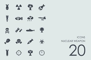 Nuclear weapon icons