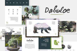 Dahuloe PowerPoint Template