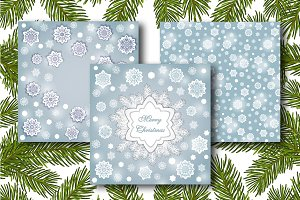 Winter Card Mock Ups