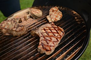 Grilling time at Summer Picnic