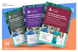 Medical Service Flyer Template