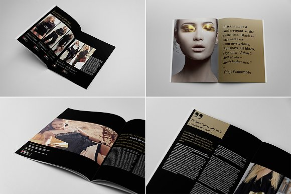 fashion catalogue brochure template brochure templates creative