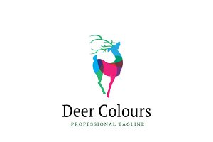 Deer Colours Logo