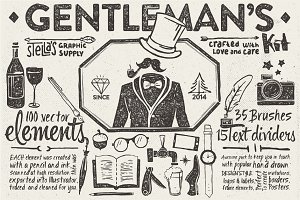 Gentleman's Graphic Kit