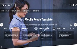 Envisage Template For Joomla