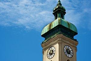Clock Tower Heilig Geist Kirche