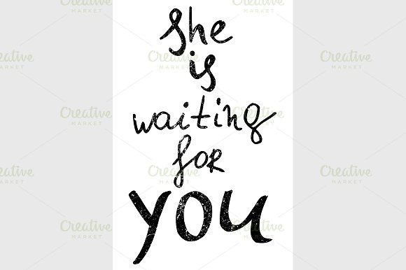 she is waiting for you.  - Graphics