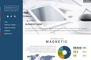 Magnetic Joomla Template