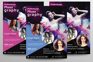 Photography Flyer Template-V346