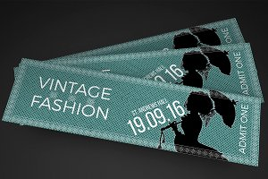Car show flyer vintage classic flyer templates on for Fashion show ticket template