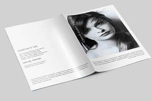 B&W Brochure for Photography-V26