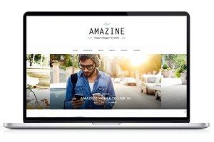 Responsive Blogger Template- Amazine