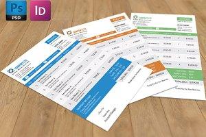 Invoice template - V01