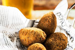 Croquettes snack