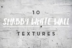 Shabby White Wall Textures