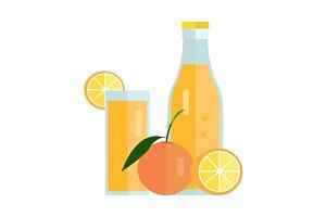 Orange Juice Concept