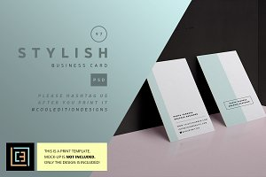 Stylish - Business Card 97