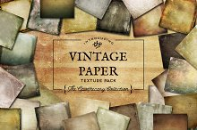 Vintage Paper Textures Apothecary