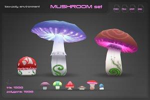 Mushrooms Environment