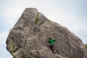 climbing in Himalaya