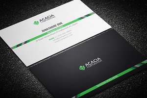 Middle-line Business Card
