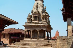Temple of old buddhistic city
