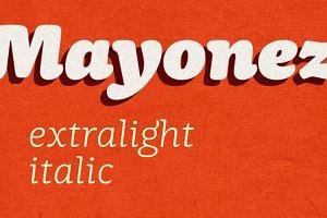 Mayonez extralight italic