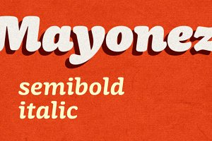 Mayonez semibold italic