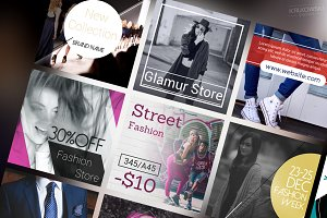 Fashion Social Media Banners