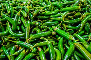 Chilies pepper background