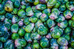 green brussel cabbage