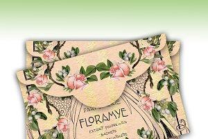 Printable Envelope - Art Nouveau