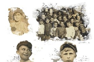 Vintage Newsboys Clipart Images