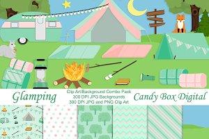 Glamping Camping Combo Kit