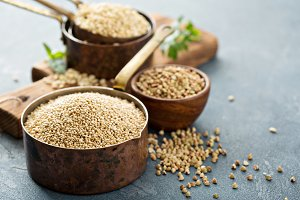 Gluten free cooking with quinoa
