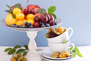 Summer fruits on the table