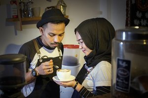 Couple Partners Coffee Cafe