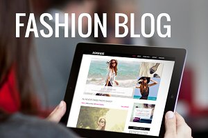 Fashion Blog-WordPress Theme