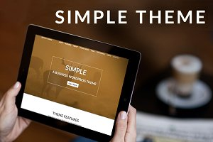 Simple-WordPress Theme