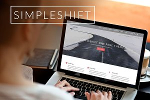 SimpleShift-WordPress Theme