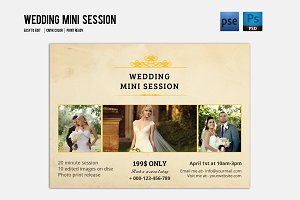 Photography Mini Session Flyer-V347