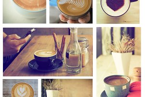 coffee vintage collaction