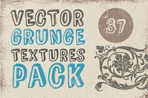 Vector Grunge Textures Pack 37