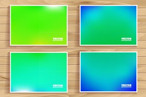 8 beautiful vector backgrounds.